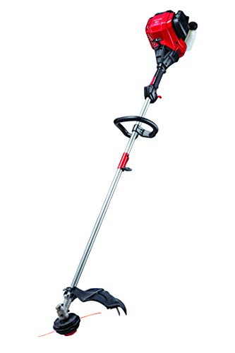 CRAFTSMAN CMXGTAMD30SA 30cc 4-Cycle 17-Inch Straight Shaft Gas Powered String Trimmer and Brushcutter-Weed Wacker with Attachment Capability for Lawn Care, Liberty Red