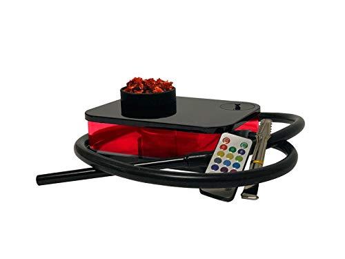 BOOSEY Modern Portable Hookah Set for Best Shisha Experience   LED with Remote Control   Nargile, Nargila, Narguile
