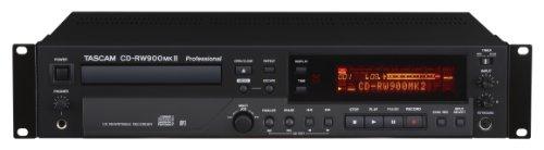 Tascam CD-RW900MKII Professional Rackmount CD Recorder/Player