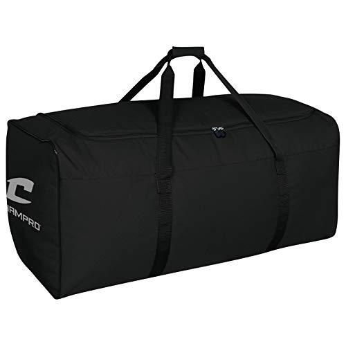 Champro Oversize Equipment Bag (Black, 36 x 16 x 16-Inch)