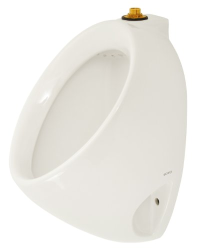 TOTO UT104E#01 Commercial Washout Urinal With Top Spud, Cotton White