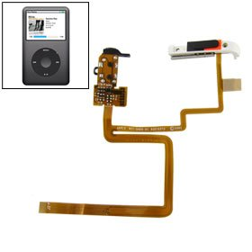 Replacement Headphone Audio Jack Flex Cable for iPod Classic 80GB 120GB