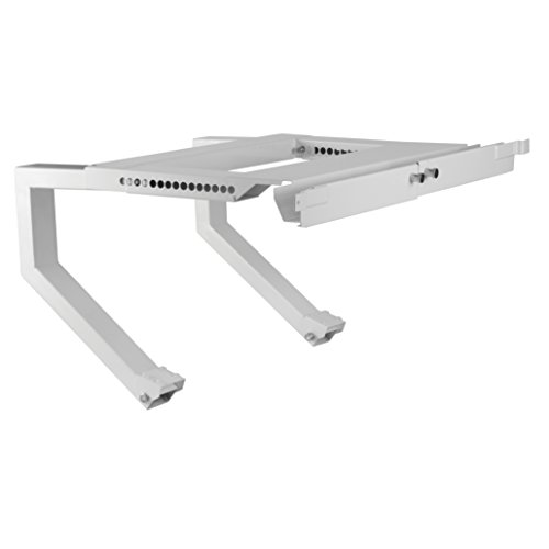 TOP SHELF TSB-2438 Air Conditioner Bracket, No Drilling and No Tools Required, White