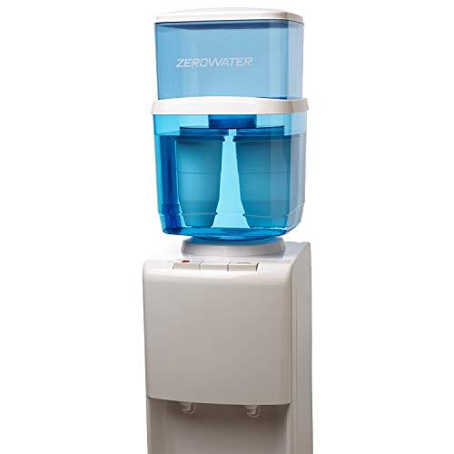 ZeroWater Refillable Filtered Water Cooler Jug, 5 Gallon Capacity