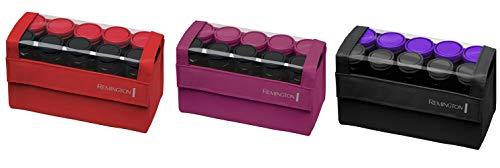 Remington H1016 Compact Ceramic Worldwide Voltage Hair Setter, Hair Rollers, 1-1 ¼ Inch, Purple/Black