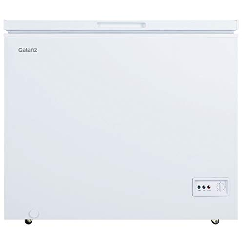 Galanz GLF70CWED01 Chest Freezer, White