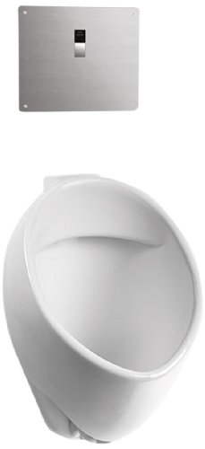 Toto UT105UVG#01 Commercial Washout Urinal W/CEFIONTEC Back SPUD-Cotton, White