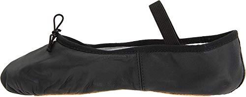 Bloch Women's Dansoft Full Sole Leather Ballet Slipper/Shoe, Black, 8 Narrow
