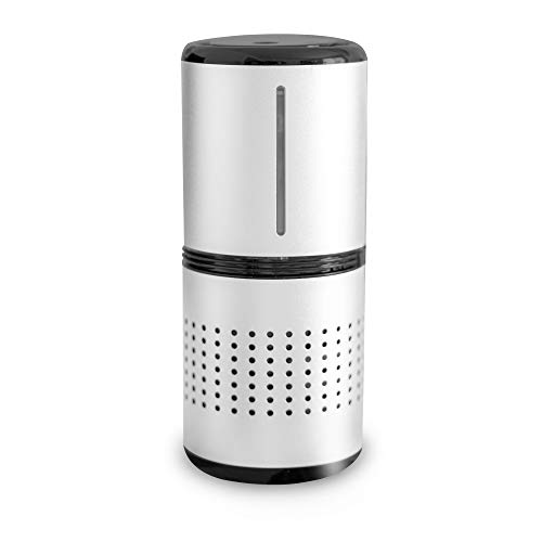 CONVENIC Travel Size Air Purifiers - Portable Air Purifier with HEPA Filter - 2-in-1 Ultrasonic Humidifier Mode - Aromatherapy Function - Ultra-Low Noise Level - Office, Car, Small Room, Desktop Air Purifier, Portable Air Purifier for Travel