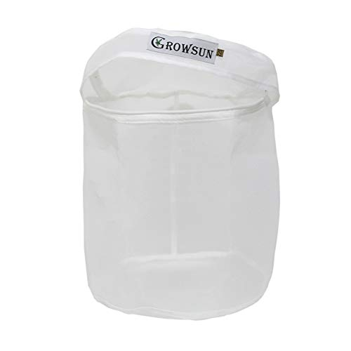 Growsun 2 Gallon 220 Micron Bubble Zipper Bag for Extracting Washing Machine - Herbal Extractor Durable Filter Bag