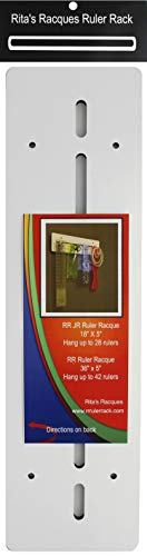 Ritas Racques Ruler Rack Wall Junior 18x5