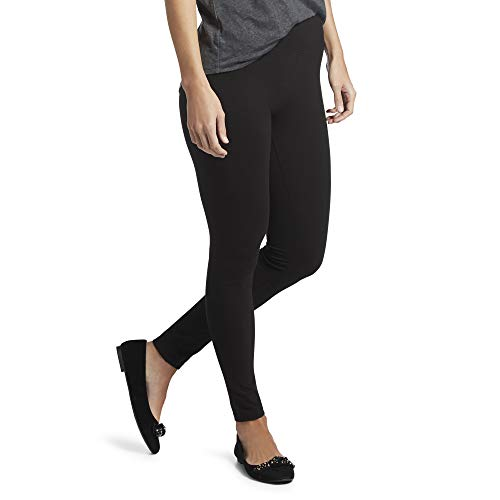 Hue Women's Ultra Legging with Wide Waistband - X-Large - Black