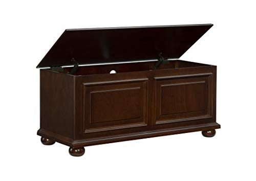 Powell Furniture Chadwick Cedar Chest, Cherry,