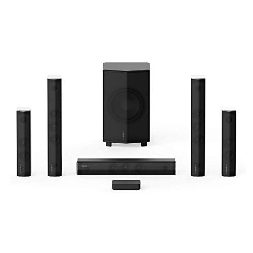 Enclave CineHome PRO 5.1 Wireless Home Theater Surround Sound - CineHub Edition Bundle | THX Certified | 24 Bit Dolby Digital & DTS | WiSA Certified
