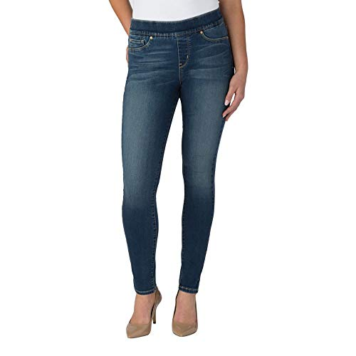 Signature by Levi Strauss & Co. Gold Label Women's Totally Shaping Pull-On Skinny Jeans, Harmony, 4