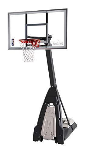 Spalding The Beast 60' Glass Portable Basketball Hoop