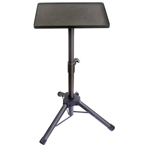 GLEAM Universal Laptop Projector Tripod Stand - Computer, Book, DJ Equipment Holder, Height Adjustable Up to 40 Inches