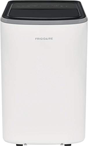 Frigidaire FHPC082AB1 17' Portable Air Conditioner with 8000 BTU Cooling Capacity, Auto Restart, Continuous Drain Operation and Sleep Mode in White