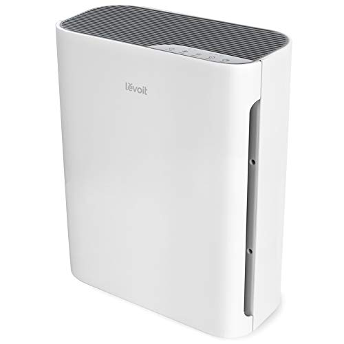 LEVOIT Air Purifier for Home with H13 True HEPA Filter, Cleaner for Allergies and Pets, Smokers, Mold, Pollen, Dust, Quiet Odor Eliminators for Bedroom, Vital 100, White