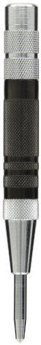 Fowler 52-500-290 Hardened Steel Super Heavy Duty Automatic Center Punch, 6' Length, 0.625' Diameter