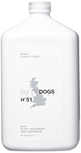 Isle of Dogs Coature No. 51 Heavy Management Dog Conditioner for damaged hair, 1 liter