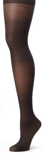 Hanes Silk Reflections Women's Alive Full Support Control Top Pantyhose, Jet, F
