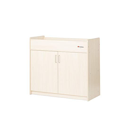 Foundations SafetyCraft Daycare Changing Table, Natural