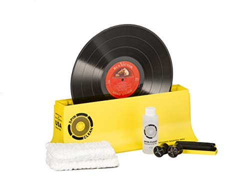Record Washer System by Spin-Clean   Deep Groove Record Cleaning Helps in Reducing Pops and Crackles   Album Cleaner May Fix Skips That Have Lingered for Years   Proudly Made in The USA