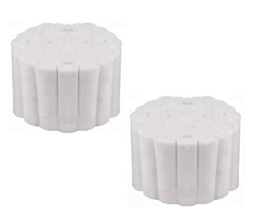 100 Dental Cotton Rolls - #2 Medium 1.5' Non-Sterile 100% High Absorbent Cotton (100 Count)
