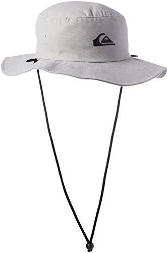 Quiksilver Men's Bushmaster Sun Protection Floppy Bucket Hat, Steeple Grey, Large/X - Large