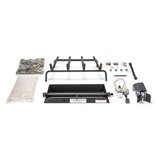 Peterson Real Fyre 18' G45 Triple Burner System (LP) Propane Gas W/Safety Pilot Kit (Burner System Only Logs Not Included)