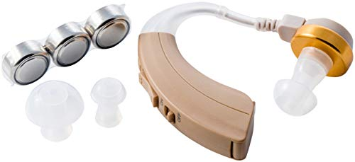 Sentire Med SM-220 / Personal Hearing Enhancement Sound Amplifier/High Quality Digital Ear Amplification Device/Beige