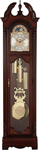 Howard Miller Langston Grandfather Clock 611-017 – Windsor Cherry with Single-Chime Movement