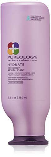 Pureology Hydrate Moisturizing Conditioner | For Medium to Thick Dry, Color Treated Hair | Sulfate-Free | Vegan | 8.5 oz.