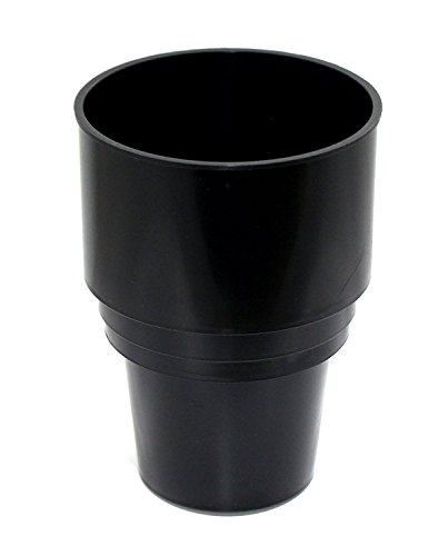 JSP Manufacturing Replacement Golf Cart Cup Holder for Portable Propane Heater - Multi-Color (Black)