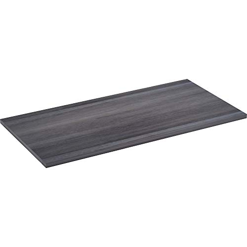 Lorell Active Office Relevance Tabletop, Charcoal, Laminate