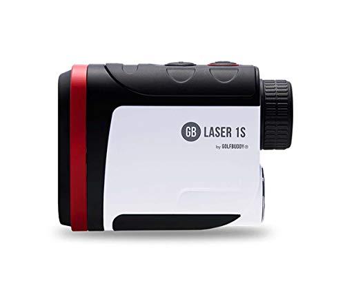 Golfbuddy Laser1s with Slope Rangefinder White/Black