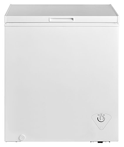 midea MRC050S0AWW Chest Freezer, 5.0 Cubic Feet, White