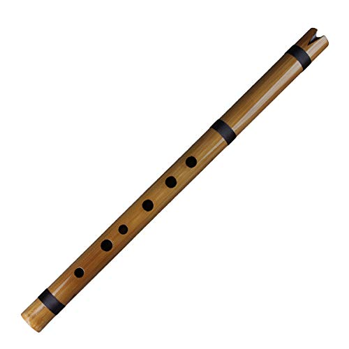 a Vertical Bamboo Flute Indian Clarinet Bamboo Quena Flute in G Key