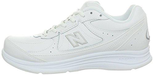 New Balance Women's 577 V1 Lace-Up Walking Shoe, White/White, 9 W US