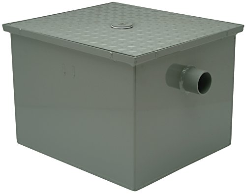 Zurn GT2700-25-3NH - Grease Trap Interceptor, 3 In, 25 GPM