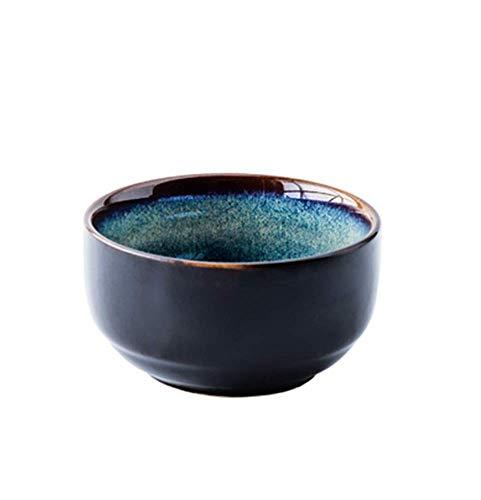 Japanese Household Rice Bowl Korean Restaurant Ceramic Bowl Underglaze Colored Noodle Bowl Fruit Salad Dessert Bowl