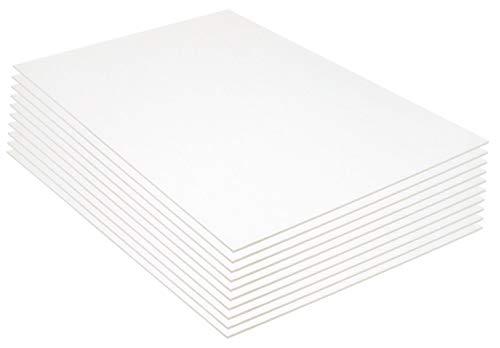 Royal & Langnickel Foam Board 20 x 30 Inch, White - 10 Sheets
