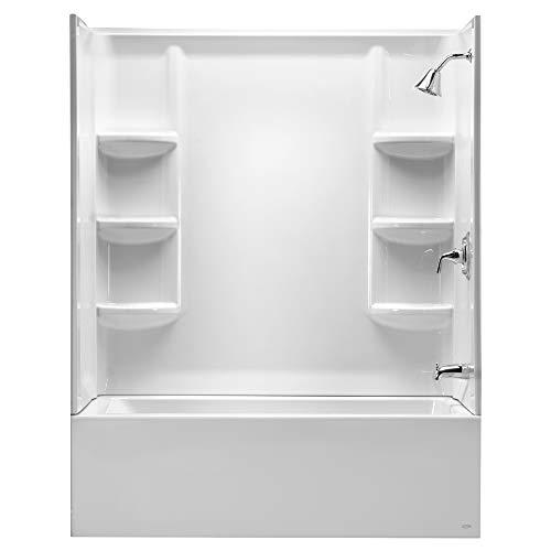 American Standard 2946BW.011 Studio 60' x 32' Bathtub Wall Set, Arctic