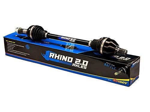 SuperATV Heavy Duty Rhino 2.0 Rear CV Axle for Can-Am Maverick Trail 800R / 1000 (2018+) - 2X Stronger Than Stock!