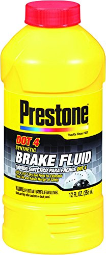 Prestone AS800-6PK DOT 4 Synthetic Brake Fluid - 12 oz, (Pack of 6)