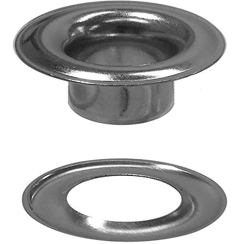 Stimpson Sheet Metal Grommet and Washer Marine Grade Stainless Steel Durable, Reliable, Heavy-Duty #3 Set (100 Pieces of Each)