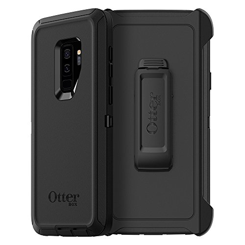 OtterBox DEFENDER SERIES Case for Samsung Galaxy S9+ - Retail Packaging - BLACK