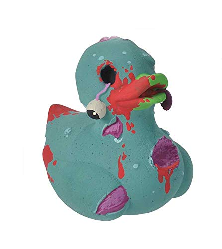 Wild Republic Rubber Ducks, Bath Toys, Kids Gifts, Pool Toys, Water Toys, Zombie, 4'