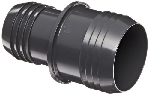 Spears 1429 Series PVC Tube Fitting, Coupling, Schedule 40, Gray, 2' Barbed